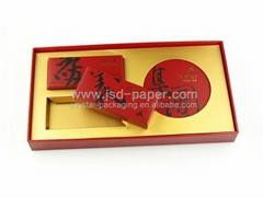Chinese tea packing custom gift box packaging