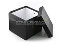 黑色燙金豪華花盒