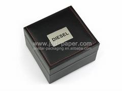 皮革手表盒