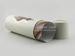 Wine packaging round hat box wholesale