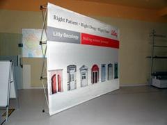 深圳展架易拉宝横幅KT板喷绘