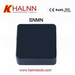 SNMN BN-S20 CBN inserts to hard turning hardened steel