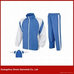 Latest Design Sports Track Suits 100% Polyester Mens Sport Tracksuit(T14)