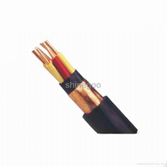 Copper tape shield steel wire armoured power cable