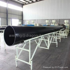 Black wear resistant uhmwpe mine pipe for sale