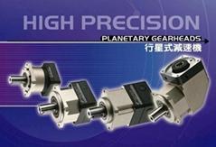 100W三菱HF-KE13电机用台湾世协行星减速机PEL42-3