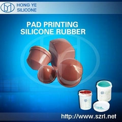 Liquid Pad Printing Silicone Rubber Materials