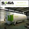 High frequency vacuum wood drying kiln