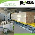 HF wood seasoning plant for drying