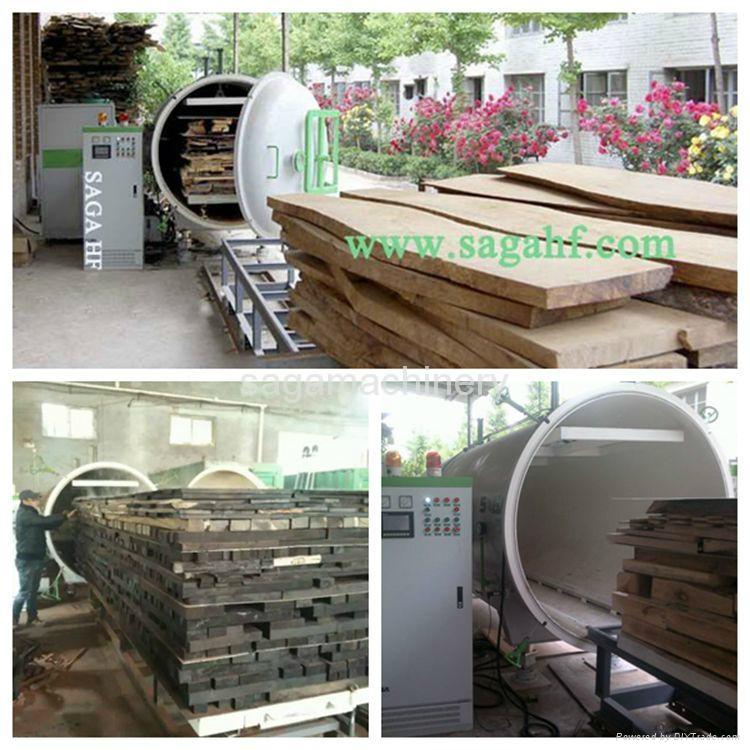 HF and vacuum timber dryer kiln machine 2