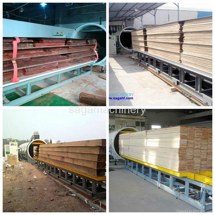 HF and vacuum timber dryer kiln machine 3