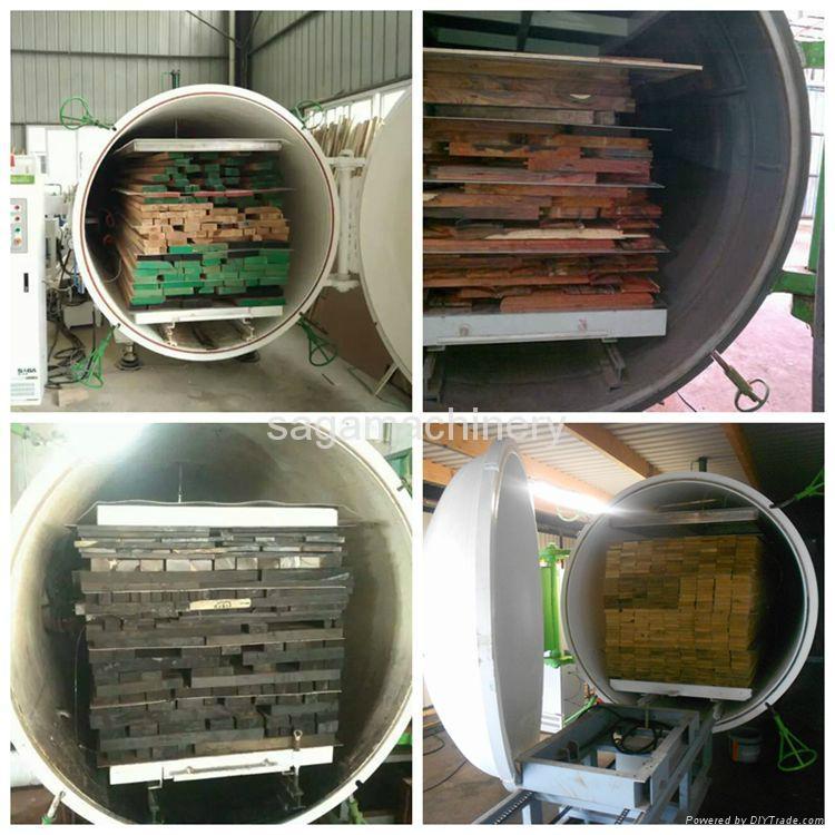 HF and vacuum timber dryer kiln machine 4