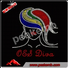 Hot sale custom OES Afro Girl motif