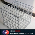 Low price hot Galvanized gabion mesh