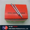 Hardened steel concrete nail for construction 3