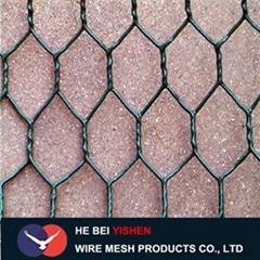 Ga  anized/pvc/hexagonal Gabion Wire Mesh Box