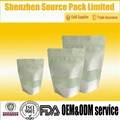 Reclosable Stand up Rice Paper Packaging