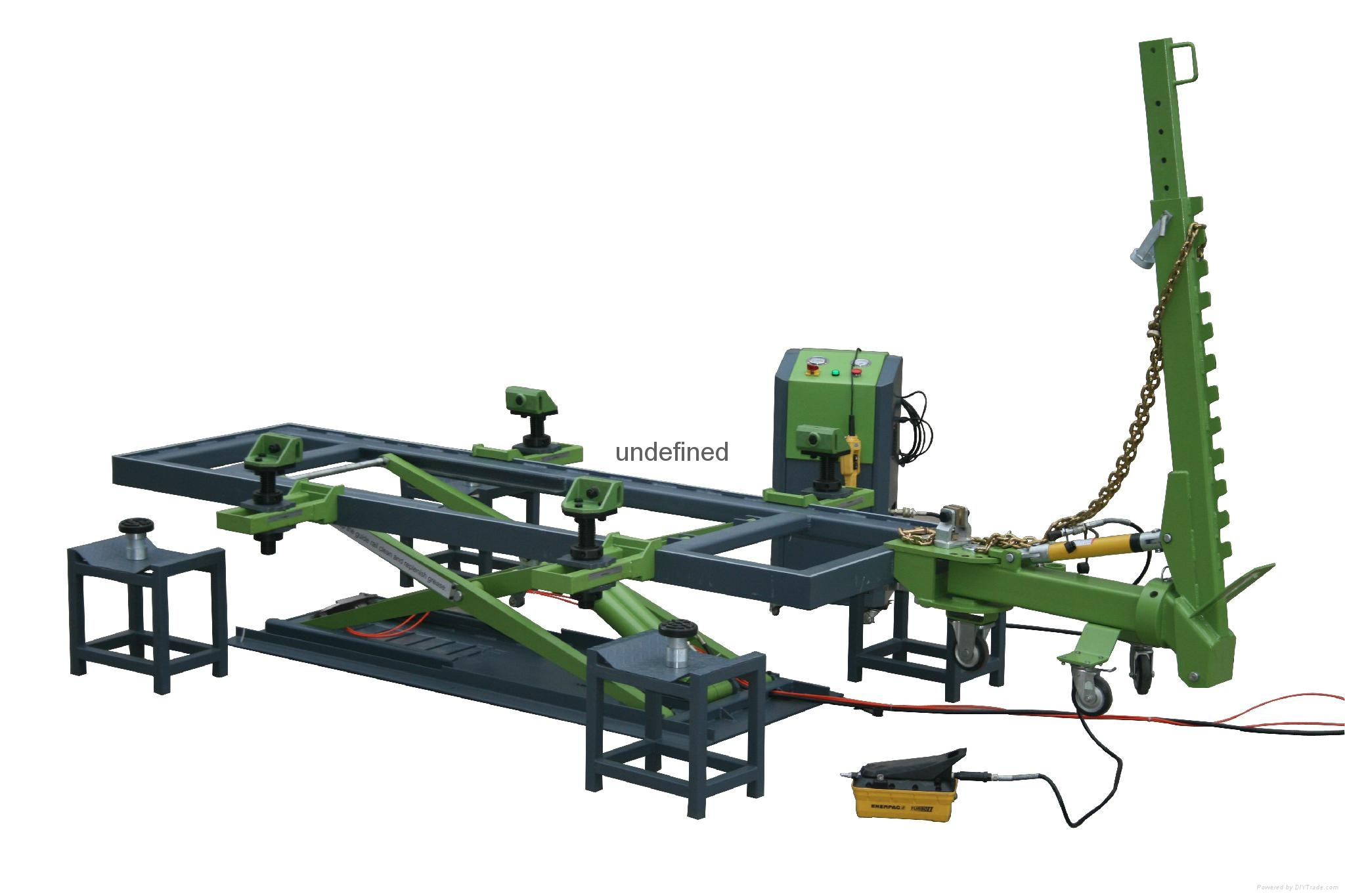 T2 Factory Frame machine European car bench with CE - TECHER 2 ...