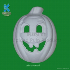 Bagasse pulp DIY halloween masks,cute and lovely