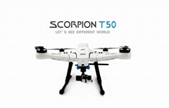 JTT T50 drone with FPV screen HD record auto return  follow me  real-time para