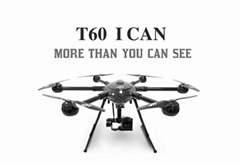 JTT T60 Professional survey drone  long range drone survey with HD camera