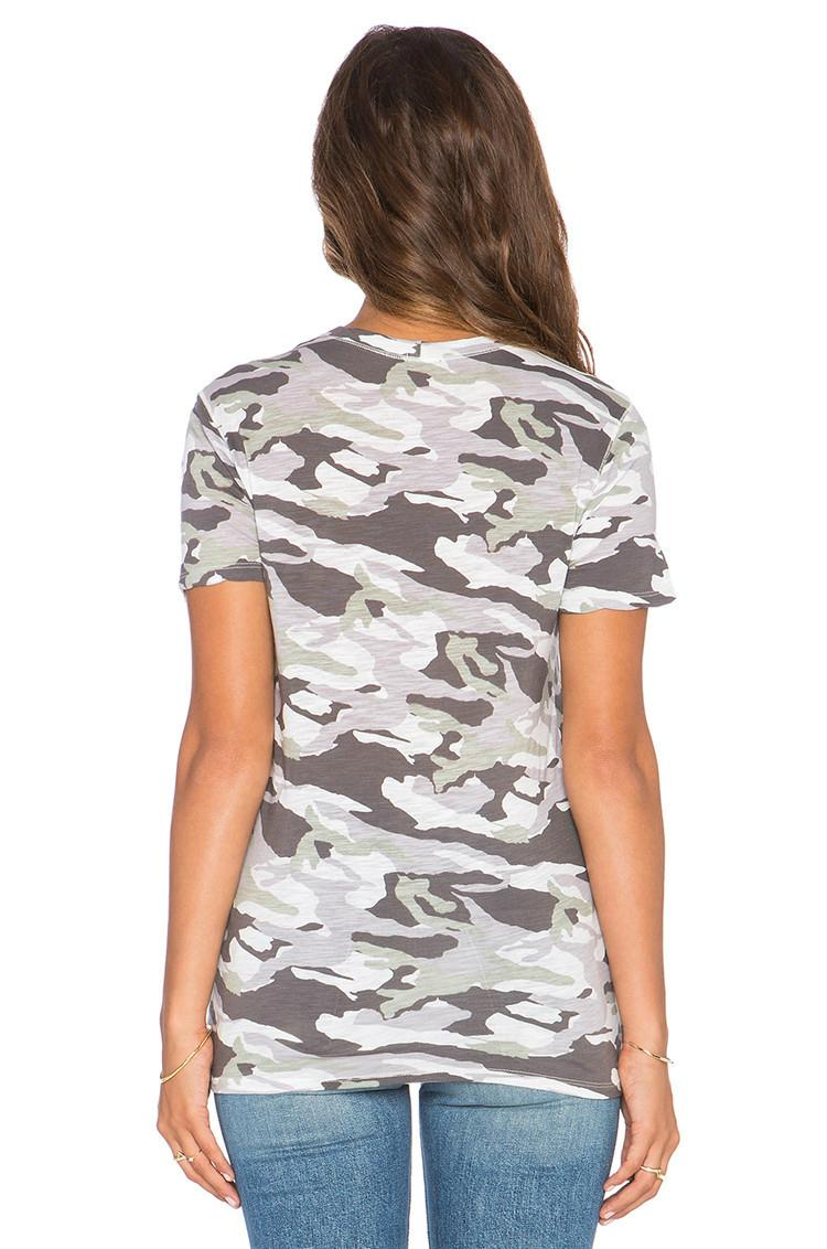 custom fashion camo t shirts design am005 oem china