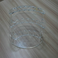 Acrylic Plexiglass pen display holder display rack