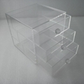 Acrylic makeup drawer orgaziner with your logo