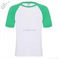 O-Neck Green Short Sleeve Men's Casual