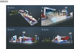 展台平面设计施工搭建