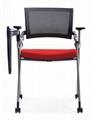 可折疊會議椅高檔鋁合金寫字板 4