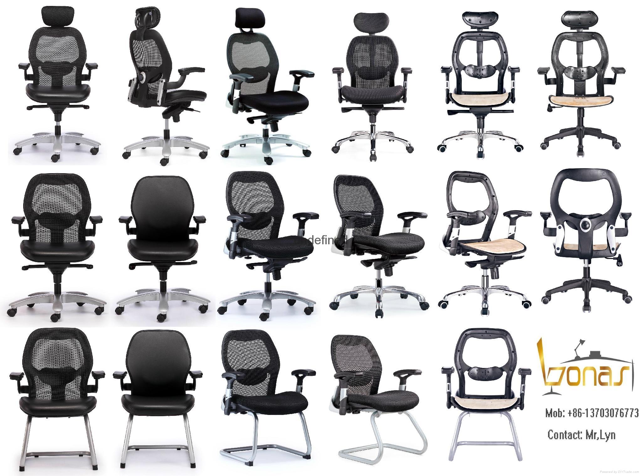 寶納斯Bonas廠家直銷批發家用舒適學生電腦椅辦公傢具老闆椅轉椅 1