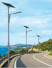 20W 30W 40W 50W 60W 70W 80W 90W Solar LED Street Light with Solar Sun Power Syst