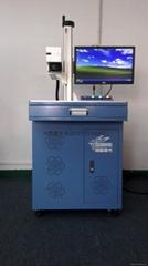 出口充電器外殼激光鐳雕機 移動電源20W30W光纖激光打標機鐳雕機