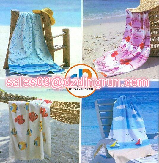 Sell Custom Design Printing Beach  Towel 1