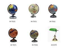 Modern Earth Globe /World Globe Touch Table Lamp