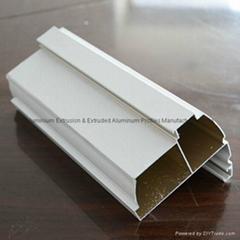 Aluminum casement door extrusion profile