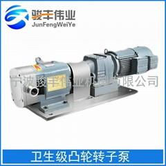 供應不鏽鋼高粘度衛生級凸輪轉子泵