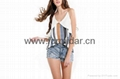shengyu upper garment frock blazer blouses cymar  bare back midriff  factory kid 1
