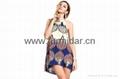 shengyu upper garment frock blazer blouses cymar  bare back midriff  factory kid 4