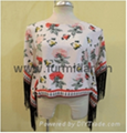 facotory cotton knit chiffon frabic