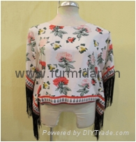 facotory cotton knit chiffon frabic shirt supplier baggy woven  wholesale