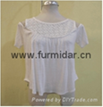 Brand blouse customized clothing  wholesale casual shirt suits lady tops dress   2
