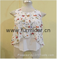 Brand blouse customized clothing  wholesale casual shirt suits lady tops dress   4