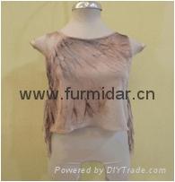 OEM customized  chiffon lace Women summer clothing chiffon blouse with side slit