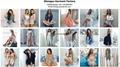 2017 brand blouse customized clothing