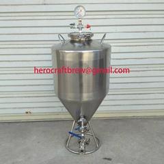 34L single layer stainless steel fermentation tank