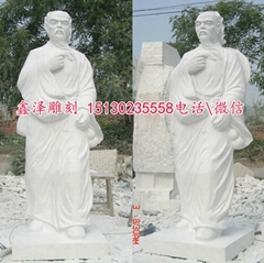 医院雕塑名人华佗扁鹊雕塑