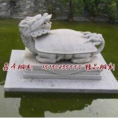 大理石石材乌龟海龟雕塑