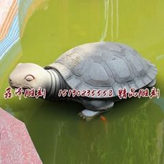 定做風水吉祥物石雕龍龜烏龜